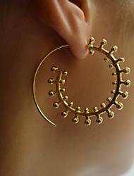 Недорогие -Жен. Серьги-кольца - Простой Мода европейский нерегулярный Назначение Повседневные