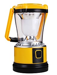 cheap -Lanterns & Tent Lights LED 200 lm Manual Mode LED with Charger Simple Camping/Hiking/Caving Yellow