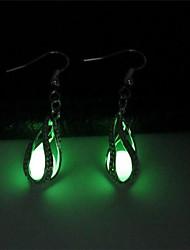 cheap -Women's Drop Earrings - Drop Fashion, Luminous Light Green For Club / Bar