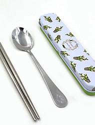 baratos -Jogo de Cozinha para Acampamento Utensílios para cozinha ao ar livre Vestível Aço Inoxidável para Campismo