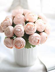 preiswerte -7 Ast Polyester andere Tisch-Blumen Künstliche Blumen