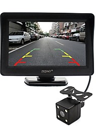 cheap -ZIQIAO 4.3 Inch Monitor and HD Car Rear View Camera