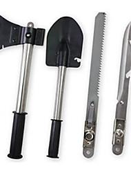 preiswerte -Messer Schaufeln Multitools Äxte Camping & Wandern Camping / Wandern / Erkundungen Outdoor Multi-Funktional Metalic 1 Stück