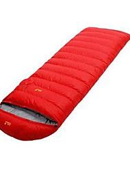 preiswerte -Schlafsack Rechteckiger Schlafsack Enten Qualitätsdaune 20°C Windundurchlässig Faltbar 210X80 Camping / Wandern / Erkundungen Camping &