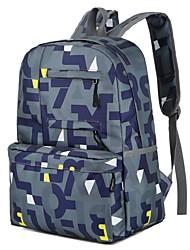 cheap -Unisex Bags Oxford Cloth Polyester School Bag Pattern / Print for Casual Outdoor All Season Sky Blue Fuchsia Dark Blue Black Green