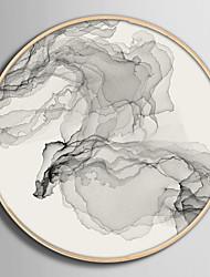 abordables -Abstrait Paysage Illustration Art mural,PVC Matériel Avec Cadre For Décoration d'intérieur Cadre Art Salle de séjour Chambre à coucher