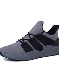 economico -Da uomo Scarpe PU sintetico Fibra di carbonio Primavera Estate Autunno Comoda scarpe da ginnastica Corsa Stivaletti/tronchetti Drappeggio