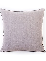 cheap -1 pcs Cotton Pillow Cover, Solid