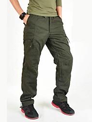 abordables -Homme Pantalons Cargo Extérieur Pare-vent Vestimentaire Sports d'hiver Hiver Pantalon / Surpantalon Escalade Multisport