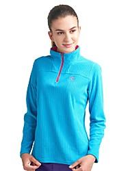 baratos -Mulheres Camisa de Trilha Ao ar livre Inverno Manter Quente Blusas N/D Multi-Esporte Corrida