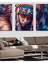 cheap -Print Rolled Canvas Prints Classic Three Panels