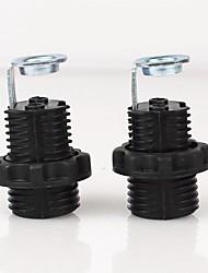 billige -2pcs E12 Bulb tilbehør Pære Forbinder / Lamp Base Metallisk / Plast 70 W