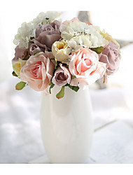 7 ブランチ その他 バラ テーブルトップフラワー 人工花