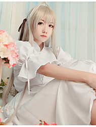 cheap -Inspired by Yosuga no Sora Kasugano Sora Anime Cosplay Costumes Cosplay Suits Other Dress Shawl For Women's