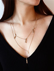 cheap -Women's Chain Necklace Harness Necklace - Casual Fashion Line Necklace For Daily Going out