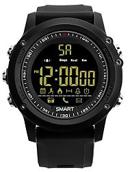 cheap -Smart Watch Pedometers Call Reminder Message Reminder Pedometer Stopwatch Alarm Clock Chronograph Call Reminder Calendar Dual Time Zones /