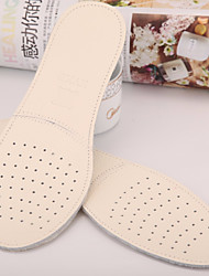 cheap -Breathable / Shock Absorption / Deodorant Insole & Inserts Genuine Leather All Shoes Spring / Summer Unisex White