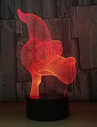 Недорогие -1 комплект LED Night Light Сенсорный 7-Color Работает от USB Сенсорный датчик