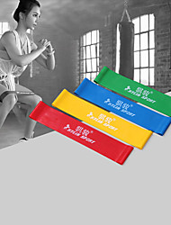 cheap -KYLINSPORT Exercise Resistance Bands With 4 pcs Rubber Strength Training, Physical Therapy For Yoga / Pilates / Fitness Home / Office