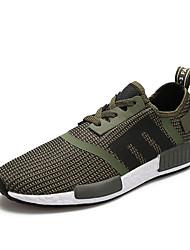 preiswerte -Schuhe Tüll Frühling Herbst Komfort Sportschuhe für Sportlich Normal Schwarz Rot Grün