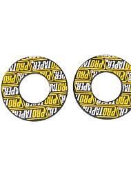 baratos -alto desempenho amarelo protaper motocross dirt pit bike atv handle bar apertos dobradiças não inlude apertos
