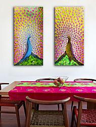 abordables -Toile Moderne, Deux Panneaux Toile Format Vertical Imprimé Décoration murale Décoration d'intérieur