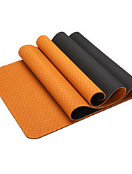 cheap -Yoga Mats Odor Free Eco-friendly Non-Slip Waterproof Quick Dry Non Toxic Sticky TPE (1/3 inch) 8 (1/4 inch) 6 (1/6 inch) 4 mm for