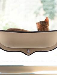 baratos -Gatos Camas Animais de Estimação Delineadores Sólido Bege Verde Para animais de estimação