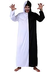 abordables -Vampiros Disfrace de Cosplay Hombre Halloween Festival / Celebración Disfraces de Halloween Blanco Vampiros Halloween