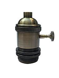 Недорогие -1 шт. E26 / e27 промышленная лампочка с металлическим корпусом с ручкой вкл. / Выкл. Vintage edison подвесной светильник diy