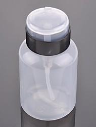 abordables -Venta caliente 200 ml vacío bomba dispensador de esmalte de uñas líquido removedor de alcohol botella limpiador de equipos de arte