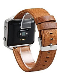cheap -Watch Band for Fitbit Blaze Fitbit Modern Buckle Leather Wrist Strap