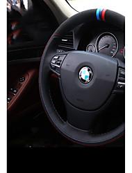 economico -Copristerzo per auto vera pelle Bianco / Blu For BMW X3 / X5 / Serie 3 Tutti gli anni