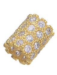 cheap -DIY Jewelry 1 pcs Beads Copper Gold Silver Tube Shape Bead 0.42 cm DIY Necklace Bracelet
