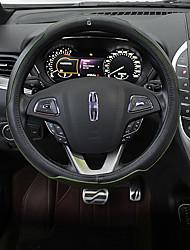 Недорогие -автомобильные крышки рулевого колеса (кожа) для lincoln все годы mkt mkz mkc mkx