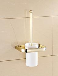 Недорогие -Современный Туалет Щетки & Держатели Латунь Номера Мини Однотонный мини Непрозрачный Поролон