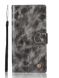 Недорогие -Кейс для Назначение Sony Xperia XA Ультра Sony Sony Xperia X Performance Sony Xperia XA Xperia XZ1 Xperia XA1 Бумажник для карт Кошелек