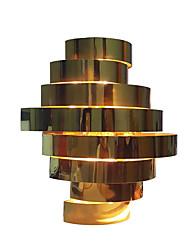 baratos -QIHengZhaoMing Moderno / Contemporâneo Luminárias de parede Sala de Estar / Quarto de Estudo / Escritório Metal Luz de parede IP20