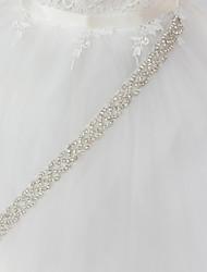 economico -Metallo Matrimonio / Occasioni speciali Fusciacca Con Con diamantini Per donna Fasce