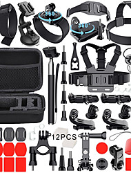 cheap -Sports Action Camera Outdoor / Antiskid / Adjustable Length For Action Camera Gopro 6 / Gopro 5 / Gopro 4 Surfing / Road Cycling / Hiking