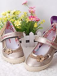 economico -Da ragazza Scarpe Finta pelle Primavera estate Comoda / Scarpe da cerimonia per bambine Ballerine per Oro / Argento