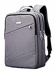 preiswerte -Unisex Taschen Oxford Tuch Rucksack Reißverschluss Schwarz / Grau