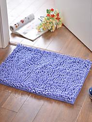 baratos -Tapete de banho tradicional poliéster / viscose retângulo criativo