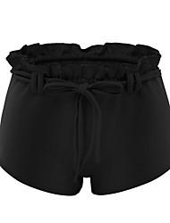 abordables -Mujer Correa Shorts de running - Negro, Gris oscuro, Azul cielo Deportes Licra Pantalones / Sobrepantalón Ropa de Deporte Transpirabilidad