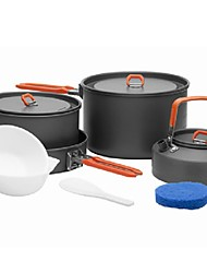 abordables -Réchaud de Camping Ustensiles de Cuisine en Extérieur Vestimentaire Acier inoxydable pour Camping