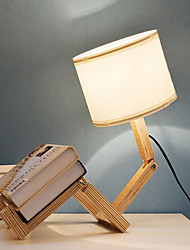 cheap -Artistic Eye Protection Table Lamp For Living Room Wood/Bamboo 220V White