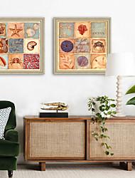 baratos -Animais Ilustração Arte de Parede,PVC Material com frame For Decoração para casa Arte Emoldurada Sala de Estar Interior