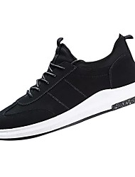 cheap -Men's Rubber Spring / Fall Comfort Athletic Shoes White / Black / Red