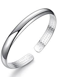 cheap -Women's Cuff Bracelet - Fashion Ethnic Silver Bracelet For Daily Formal