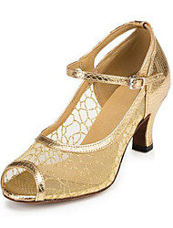 cheap -Modern Leatherette Sneaker Trim Low Heel Gold Customizable